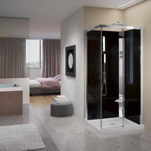 Cabine de douche Crystal A100X80 de Novellini