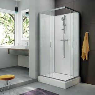 Cabines de douche intégrales Corail 5 de Leda