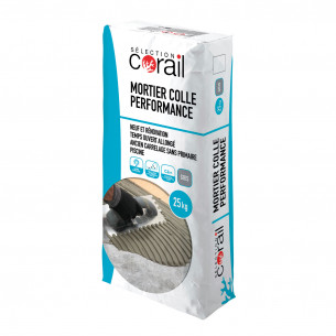 mise en oeuvre carrelage corail mortier colle performance c2
