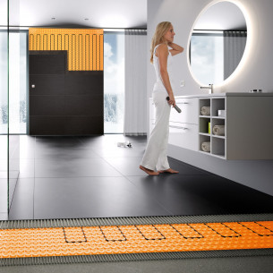 mise en oeuvre carrelage schluter systems schluter ditra heat e