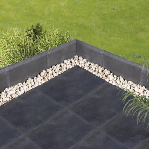 Carrelage sol extérieur Pierra Metal