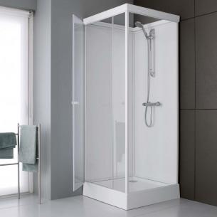 04f8f510d2fb8 Cabine de douche complete Leda Cabine de douche intégrale en verre