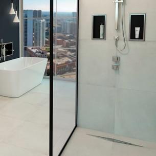 Caniveau de douche italienne Easy Drain Diamond ESS pour l'évacuation d'eau