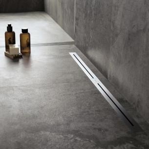 Caniveau de douche discret pour douche à l'italienne Nano de Easydrain