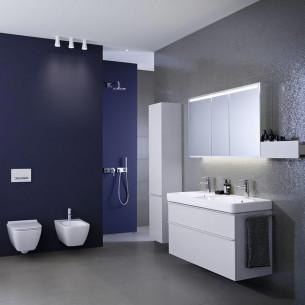Plan de toilette avec double vasque Geberit Smyle Square