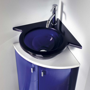Lave-mains Decotec lave-mains en résine translucide