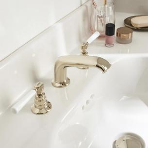 Mélangeur lavabo 3 trous Cleo 1889 de Jacob Delafon