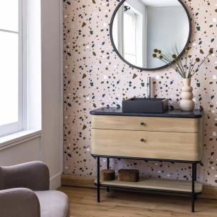 meuble salle de bain line-art-curve