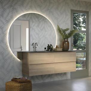 meuble salle de bain sanijura lumen chene alabama