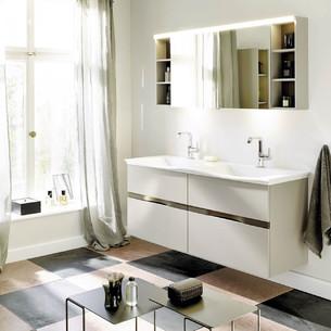 Meuble de salle de bains Orell Gris Basalte mat de Burgbad