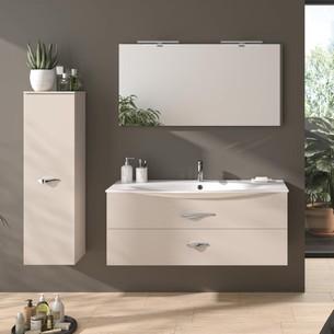 Meubles de salle de bains avec 2 tiroirs Flore par Decotec