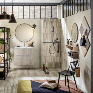 Meuble de salle de bains Unique Naturel de Delpha