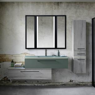 Meuble de salle de bains Halo Eucalyptus de Sanijura