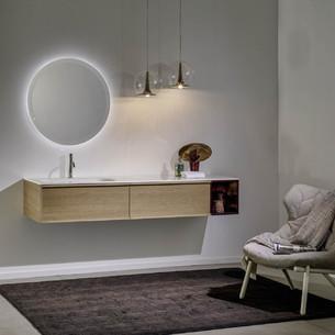 Meuble de salle de bains Loop 46 de Stocco