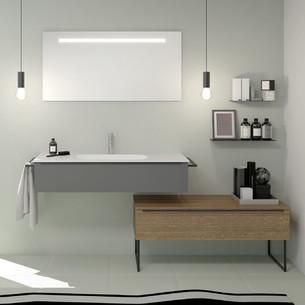 Meuble de salle de bains Style 2 avec 1 niveau par Burgbad