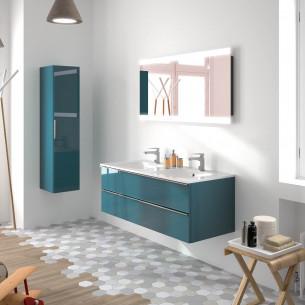 meubles de salle de bains Cedam collection Chiara chêne