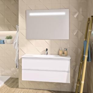 Meuble de salle de bains suspendu Velours Evolution par Ideal Standard