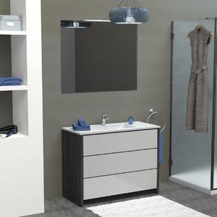 Meubles de salle de bains Charme avec plan vasque de la marque Lido