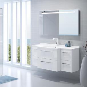 meubles de salle de bains Ambiance Bain modèle City
