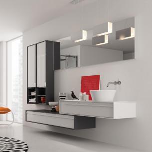 meubles de salle de bains Inda modèle Dieci