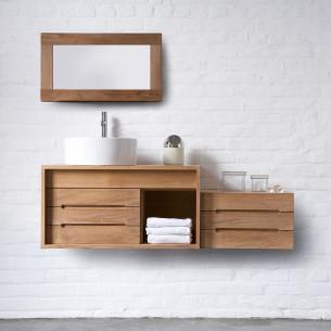 meubles de salle de bains Line Art modèle Cube