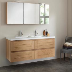 meubles de salle de bains Sanijura gamme Lignum