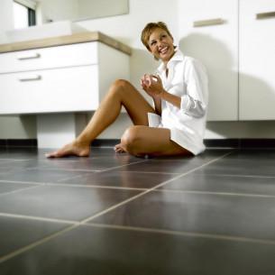 Plancher chauffant Danfoss plancher chauffant électrique salle de bain Confortmat STE