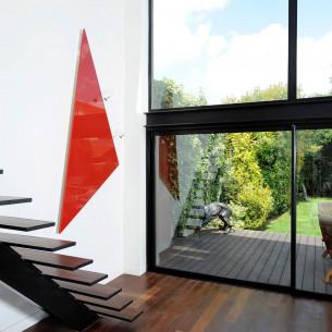 Radiateur électrique design et minimaliste Triangle de Cinier