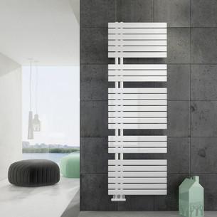 Radiateur sèche-serviettes Drap eau chaude coloris Blanc par Irsap