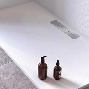 Receveur de douche avec évacuation latérale Oka par Ambiance Bain