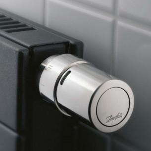Radiateurs chauffage central Danfoss Tête thermostatique autonome Living design