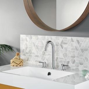 Robinet mélangeur design Minoé par Horus pour lavabo et vasque