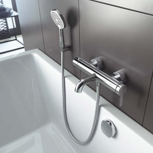 Robinet mitigeur bain douche série C1 de Duravit
