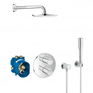 Set de douche encastré Grohtherm Rainshower 210