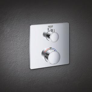 Les solutions thermostatiques encastrées