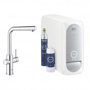 robinetterie evier grohe blue home