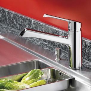 robinets évier de cuisine Ideal Standard Retta mitigeur évier hauteur 243 mm