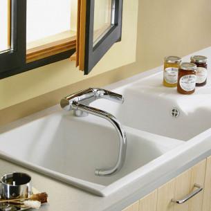 robinets évier de cuisine Jacob Delafon Nateo