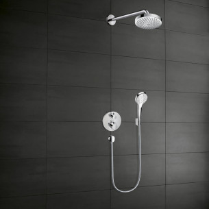Ensemble de douche encastrée Croma Select S 180 / Ecostat E de Hansgrohe