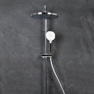 Colonne de douche thermostatique Clivia chromé de la marque Vigour