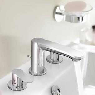 Mélangeur 3 trous lavabo Eurostyle Cosmopolitan de Grohe