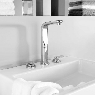 Robinets lavabos & vasques Grohe Veris 3 trous