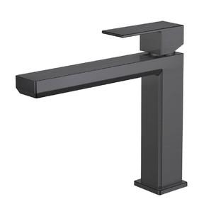 Mitigeur lavabo semi-haut Plaza Black PVD de Païni