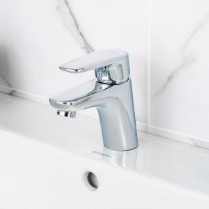 Mitigeur lavabo bas Derby Style de la marque Vigour finition chromé