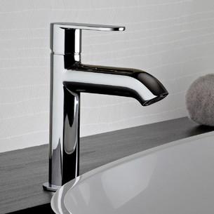 Mitigeur lavabo semi haut Round de Paini Italie