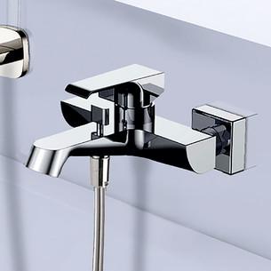 Mitigeur bain douche mural mécanique Zohé finition chromée de la marque Paini France