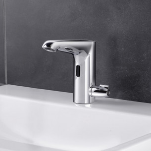 robinetterie schell mitigeur lavabo electronique xeris-e-t-hd-m