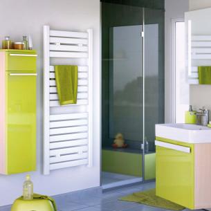 Radiateur sèche-serviettes à eau chaude CETO par Atlantic