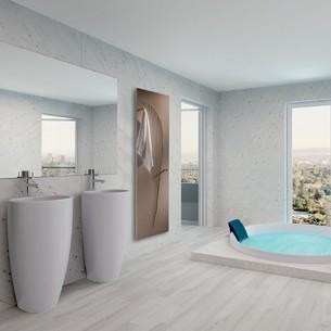 Sèche-serviettes eau chaude Oriental Bain de Cinier