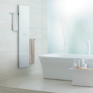 Sèche-serviettes électrique Versus Blanc d'Acova